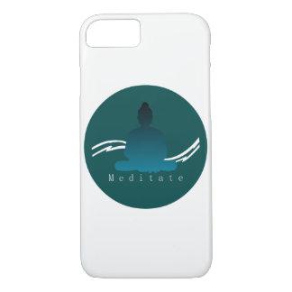 """""""Meditate"""" Beautiful Buddha Iphone case. iPhone 7 Case"""
