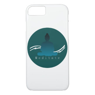 """Meditate"" Beautiful Buddha Iphone case. iPhone 8/7 Case"