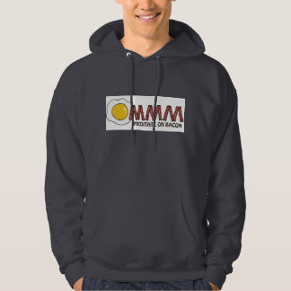 Meditate on Bacon Hoodie