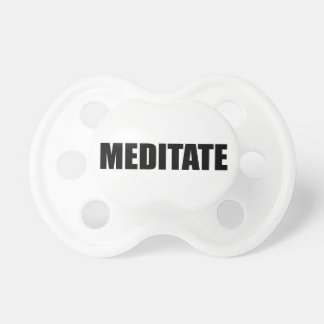 Meditate Pacifier
