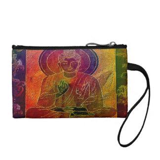 Meditating Buddha 5 Coin Purse