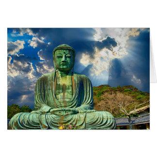 Meditating Buddha Greeting Card