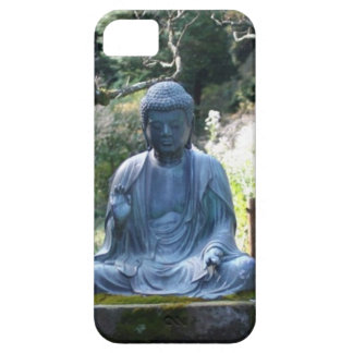 Meditating Buddha statue iPhone 5 Cases