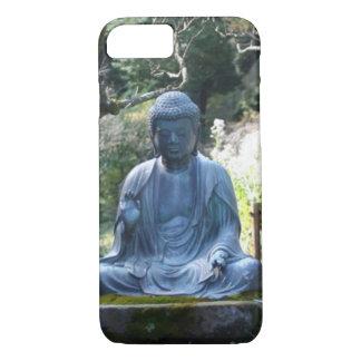 Meditating Buddha statue iPhone 7 Case