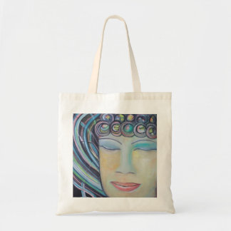 Meditating Buddha Tote Bag