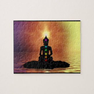 Meditating Chakra Puzzle