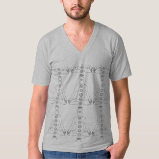 Meditating Chakras T-Shirt