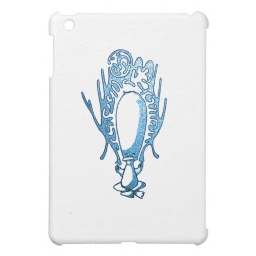 Meditating Duck Blue iPad Mini Case