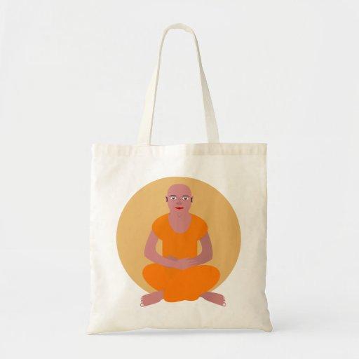 Meditating Monk Amazing Bag