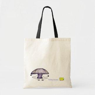 Meditating mushroom bag