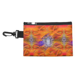 Meditating Owl Floating Rest Balance Art Accessory Bags