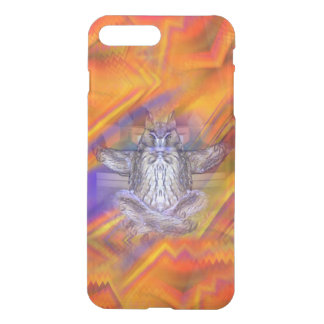 Meditating Owl Floating Rest Balance Art iPhone 7 Plus Case