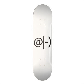 meditating smile.ai skateboard