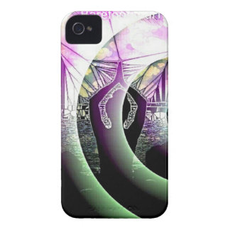 Meditation Abstract iPhone 4 Case-Mate Cases