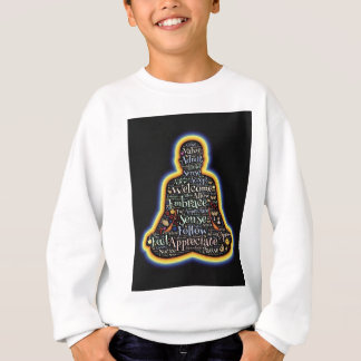 Meditation and all it is sweatshirt