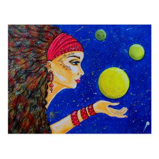 Meditation and dreams postcard