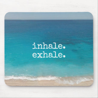 Meditation Beautiful Paradise Beach Mouse Pad