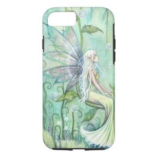 Meditation Fairy in Green Garden Fantasy Art iPhone 7 Case