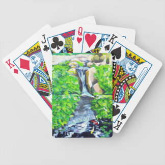 Meditation Garden Bicycle Playing Cards