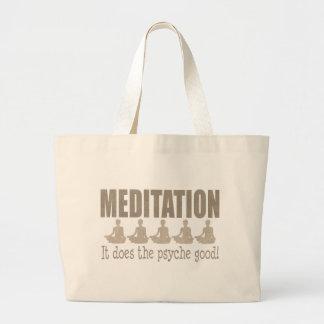 MEDITATION JUMBO TOTE BAG