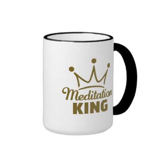 Meditation King Ringer Mug