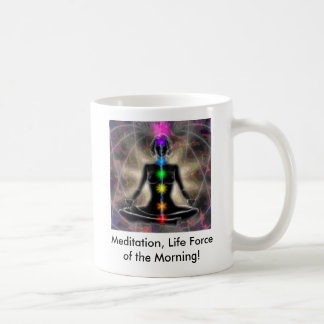 Meditation, Life Force of the Morn... Coffee Mug