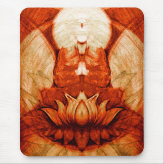 Meditation Lotus Mouse Pad