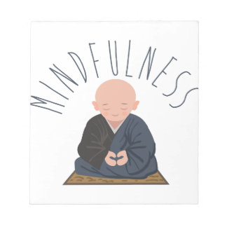 Meditation Mindfulness Notepad