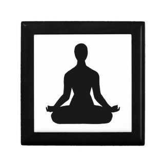 Meditation Pose Silhouette gift box