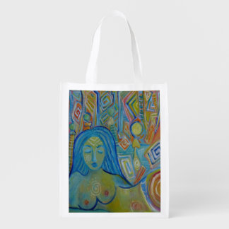 Meditation Reusable Grocery Bag
