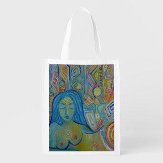 Meditation Reusable Grocery Bag