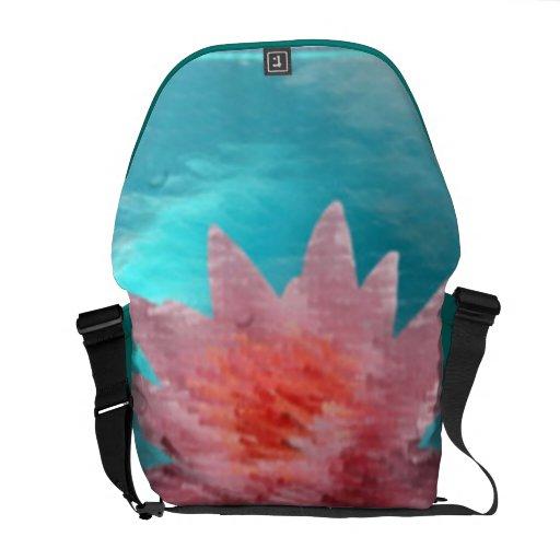 Meditation Rickshaw Messenger Bag