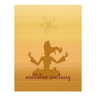 meditation sanctuary flyer