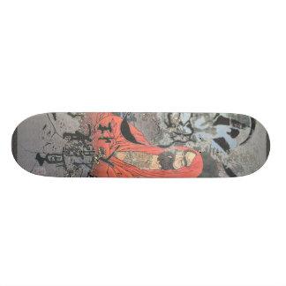 Meditation through constant peace custom skate board