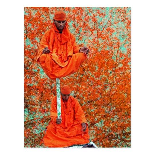 Meditation time postcard