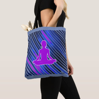 Meditation Vibes (Purple) Tote Bag