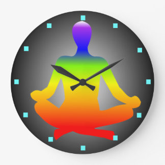 Meditation wall clock