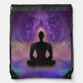 Meditation Yoga Drawstring Backpack