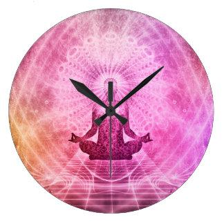 Meditation Yoga Faith Clock