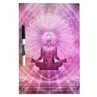Meditation Yoga Faith Dry Erase Board
