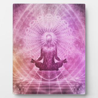 Meditation Yoga Faith Plaque