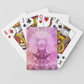 Meditation Yoga Faith Playing Cards