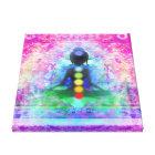 Meditation Yoga Premium Wrapped Canvas