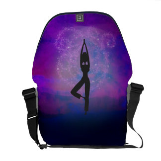 Meditation Yoga Rickshaw Messenger Bag