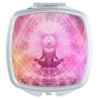 Meditation Yoga Style Compact Mirrors