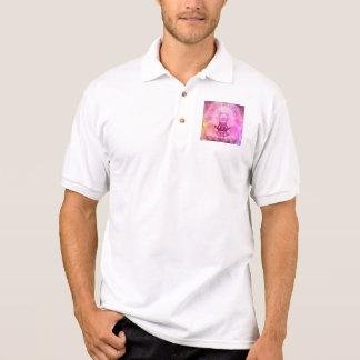Meditation Yoga Style Polo Shirt