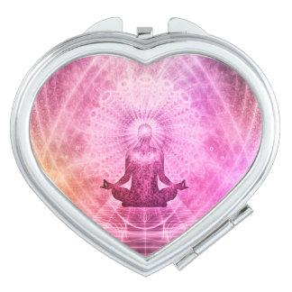 Meditation Yoga Style Travel Mirror