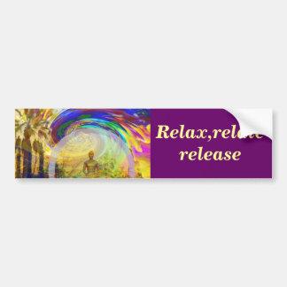 Meditations & Colors_ Bumper Sticker