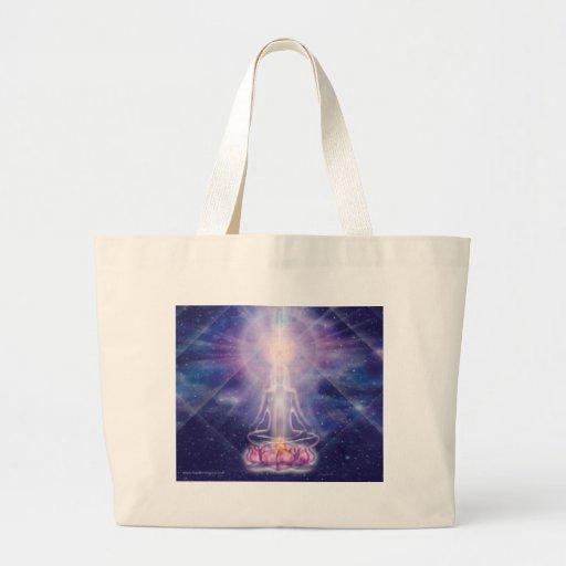Meditator Tote Bags