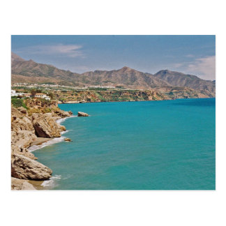 Mediterranean Coast Postcard